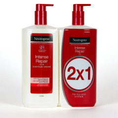 Neutrogena Loción Corporal Reparación Intensa Duplo 750 ml  Promoción 2x1
