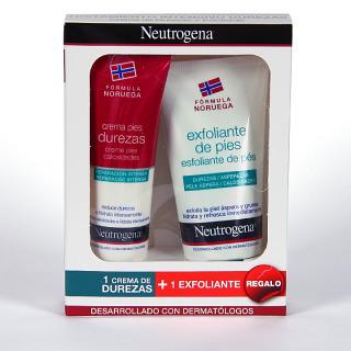 Neutrogena Pies Pack Crema Durezas + Exfoliante de regalo
