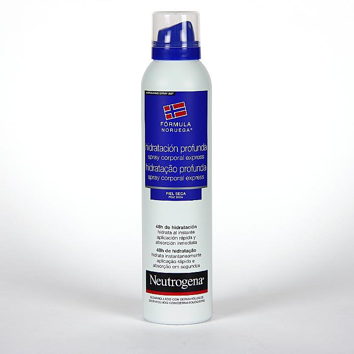 Neutrogena Spray Corporal Express Hidratación profunda Piel seca 200 ml