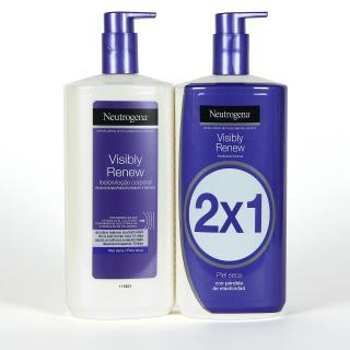 Neutrogena Visibly Renew Loción Corporal Elasticidad Intensa Duplo 750 ml Promoción 2x1