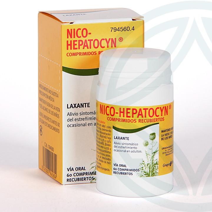 Nico-Hepatocyn 60 comprimidos
