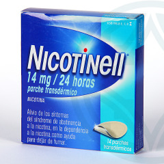 Nicotinell 14 mg/24 horas 14 parches