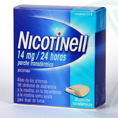 Nicotinell 14 mg/24 horas 28 parches