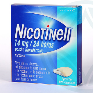 Nicotinell 14 mg/24 horas 7 parches
