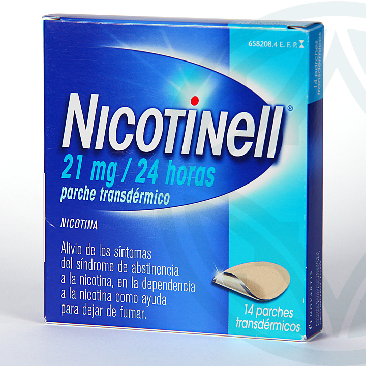 Nicotinell 21 mg/24 horas 14 parches