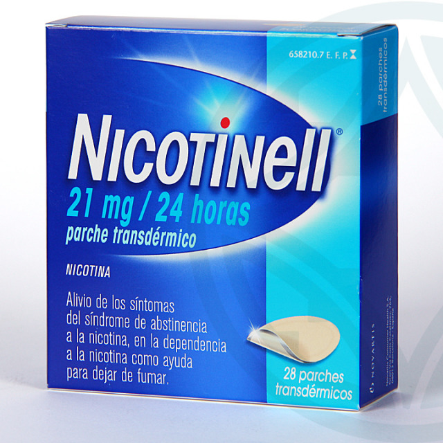 Nicotinell 21 mg/24 horas 28 parches