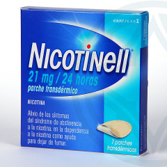 Nicotinell 21 mg/24 horas 7 parches
