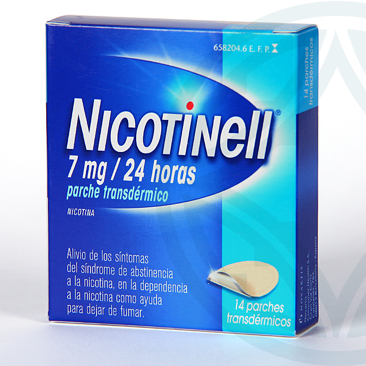 Nicotinell 7 mg/24 horas 14 parches