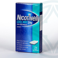 Nicotinell Cool Mint 2 mg 24 chicles medicamentosos