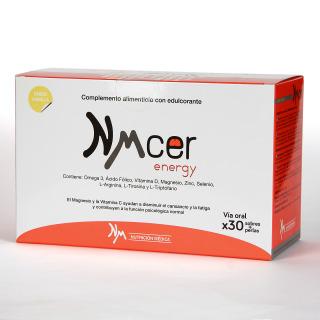 NMcer Energy 30 sobres + perlas Sabor Vainilla
