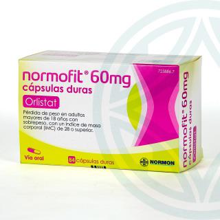 Normofit 60 mg 84 cápsulas