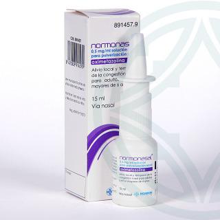 Normonasal 0,5 mg/ml solución para pulverización 15 ml