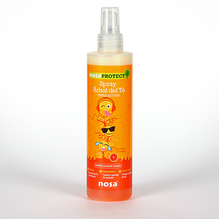 Nosa Spray Capilar Árbol del Té olor pomelo 250 ml
