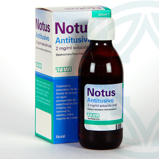 Notus Antitusivo 2 mg/ml Solución Oral 200 ml