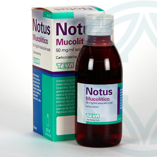 Notus Mucolítico 50 mg/ml solución oral 200 ml