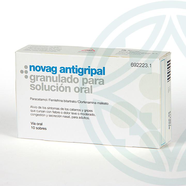 Novag Antigripal 10 sobres granulado para solución oral
