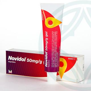 Novidol 50mg/g gel 60 g
