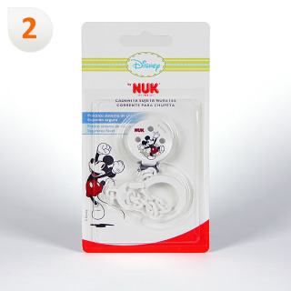 Nuk Broche Pinza Mickey Mouse