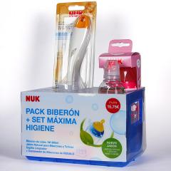 Nuk Pack Biberón + set Máxima Higiene