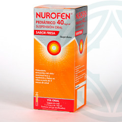 Nurofen Pediátrico 40 mg/ml suspensión oral 150 ml fresa
