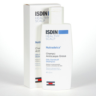 Isdin Nutradeica Healthy Scalp Champú Anticaspa Grasa 200 ml