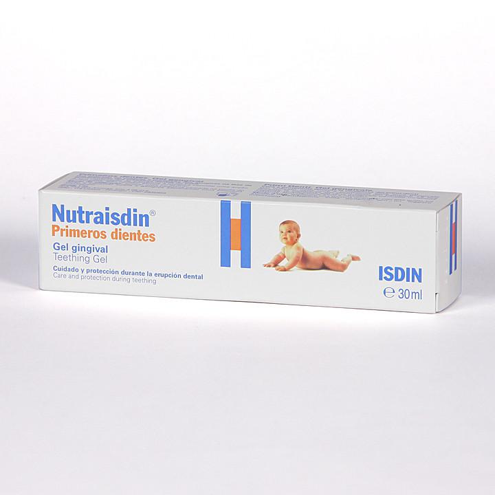 Nutraisdin Primeros dientes Gel gingival 30 ml