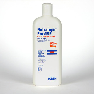Nutratopic Pro-AMP Gel de baño emoliente 400 ml