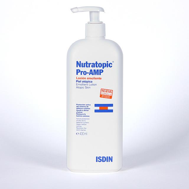 Nutratopic Pro-AMP Loción emoliente 400 ml