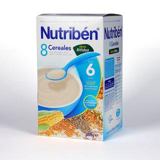 Nutribén 8 Cereales Efecto Bífidus 600 g