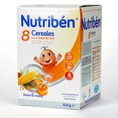 Nutriben 8 Cereales y toque de Miel 600 g