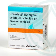 Oculotec colirio 20 envases unidosis