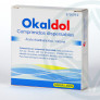 Okaldol 500/250 mg 4 comprimidos dispersables
