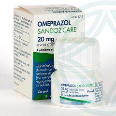 Omeprazol Sandoz Care EFG 20 mg 20 cápsulas frasco