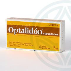 Optalidon 6 supositorios