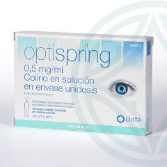 Optispring colirio 10 envases unidosis