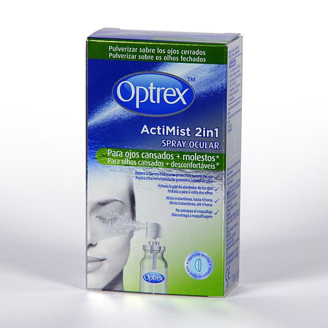 Optrex Actimist spray ocular ojos cansados y molestos 10 ml