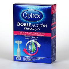 Optrex Colirio Ojos Secos Doble Acción 20 Monodosis