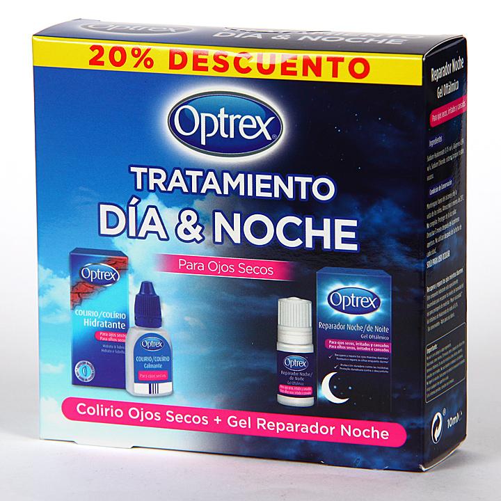 Optrex Kit Día y Noche Ojos Secos 20% de descuento