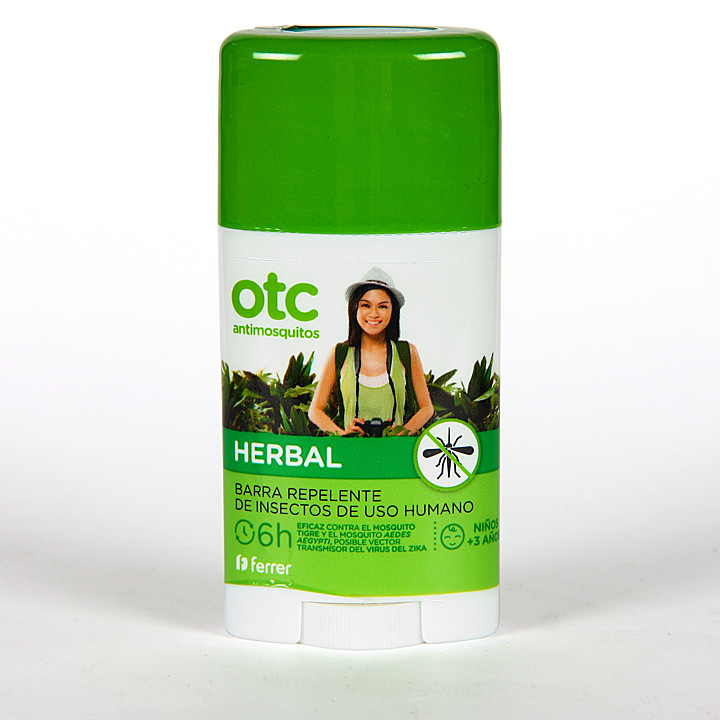 OTC Antimosquitos Herbal Barra Repelente 50 ml