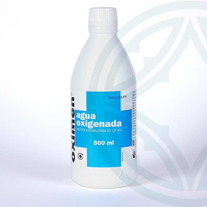 Oximen 10 volúmenes solución tópica 500 ml