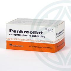 Pankreoflat 50 comprimidos recubiertos