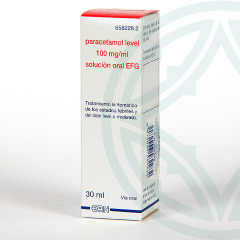 Paracetamol Level EFG 100 mg/ml solución oral 30 ml