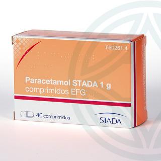 Paracetamol Stada EFG 1 g 40 comprimidos