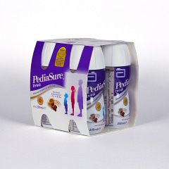 Pediasure Chocolate Complemento Alimenticio Drink 4 x 200 ml