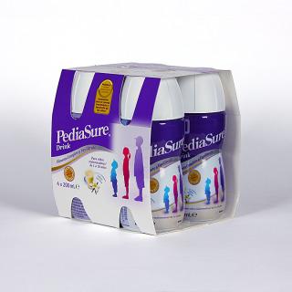 Pediasure Vainilla Complemento Alimenticio Drink 4 x 200 ml
