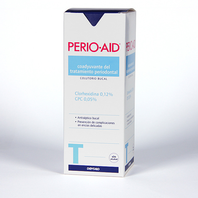 Perio-aid Colutorio Tratamiento sin alcohol 500 ml