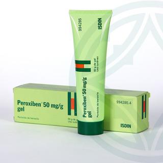 Peroxiben 50 mg/g gel topico 60 g
