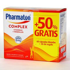 Pharmaton Complex 60+30 Cápsulas blandas Pack ahorro