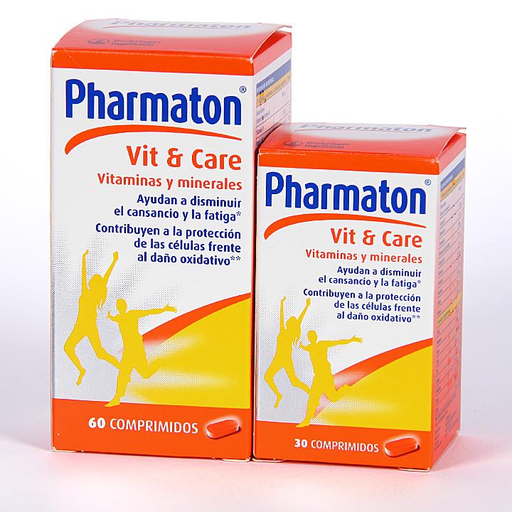 Pharmaton Vit & Care 60 comprimidos + 30 gratis Pack