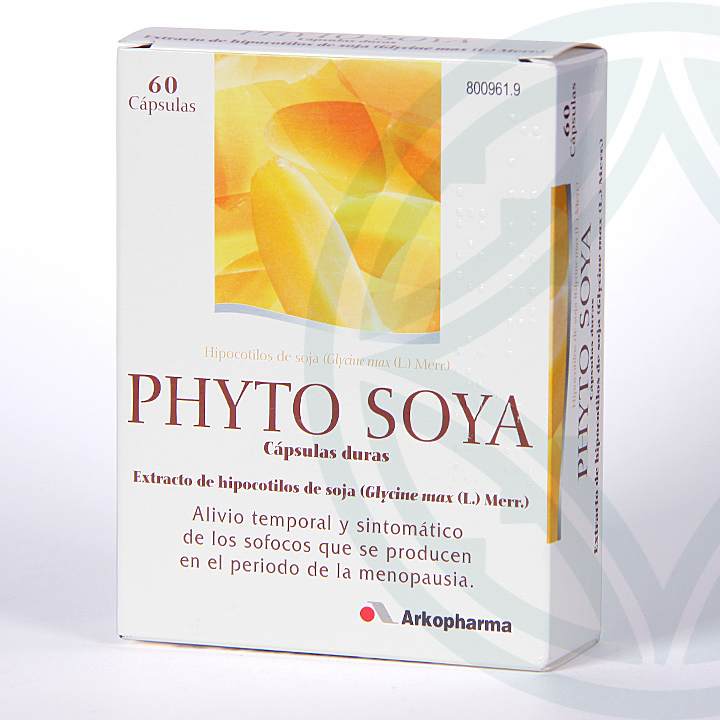 Phyto Soya 175 mg 60 cápsulas